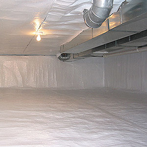 Crawl Space Waterproofing and Encapsulation by CT Dry Basements in Avon, Connecticut